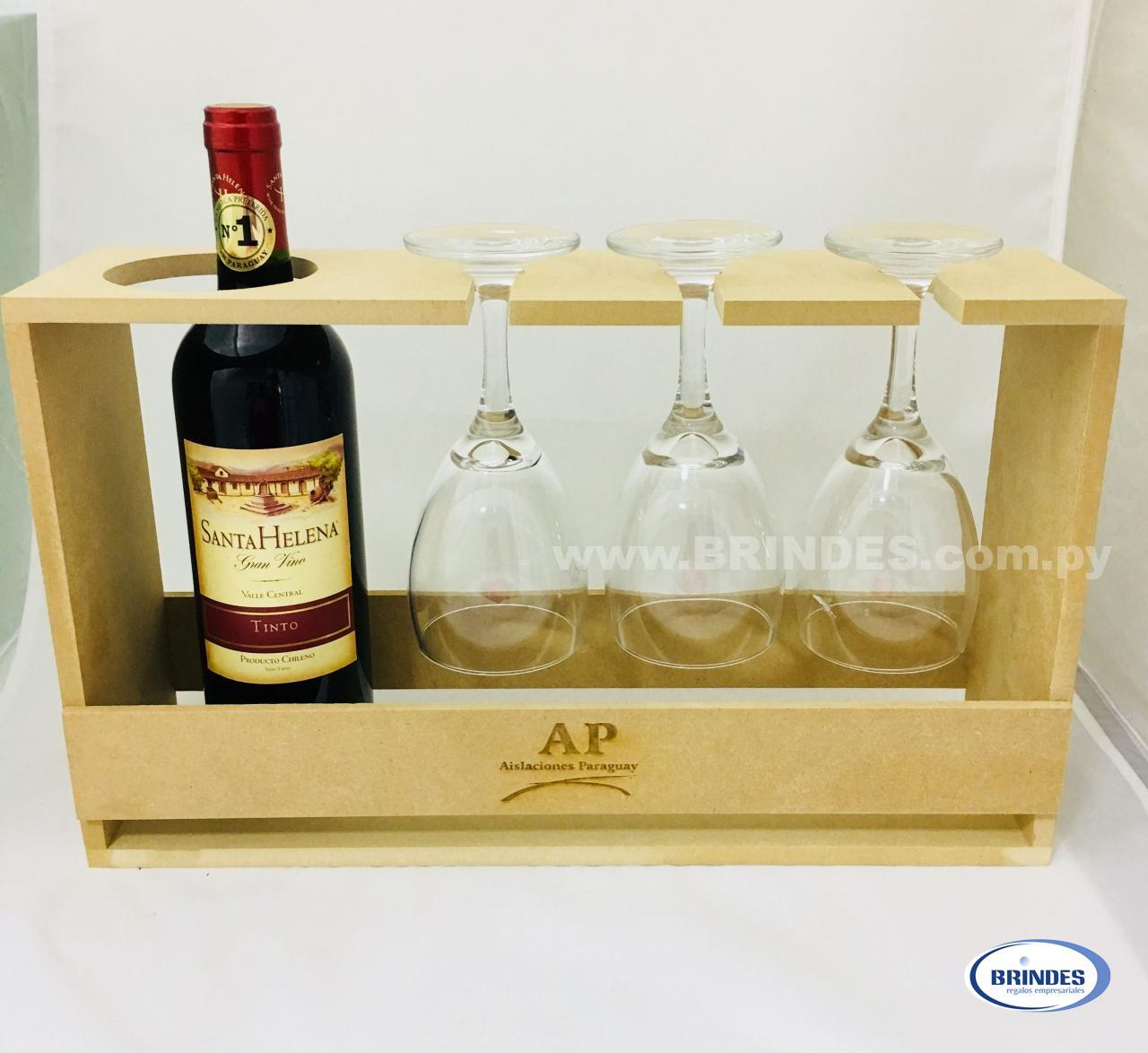 Kit Vino MDF