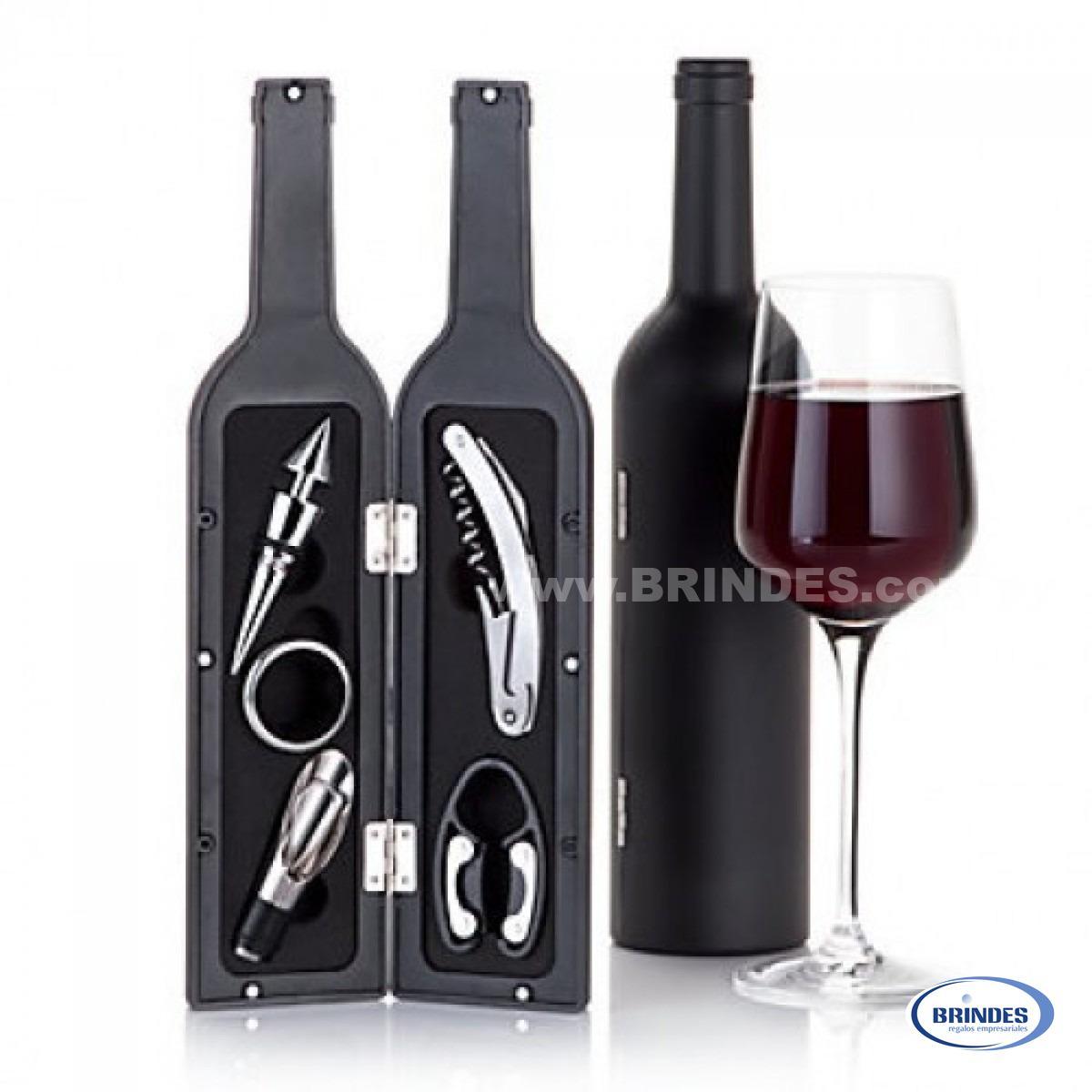 Kit 5 Utencilios de Vino