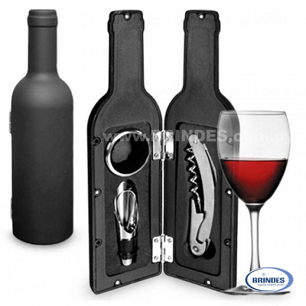 Kit 3 Utencilios de Vino